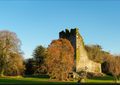 Dunkerron Castle in Autumn
