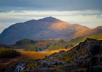 The Caha Mountains